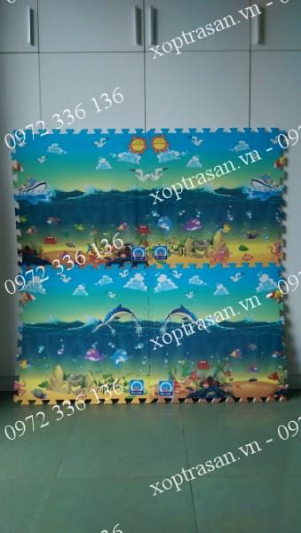 Xốp tranh Biển Âu Lạc