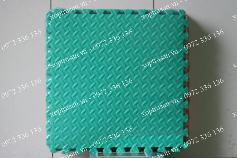 Xốp lót sàn vân lá xanh ngọc 60x60cm